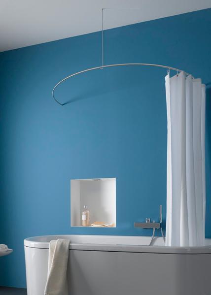 duschvorhangstangen und zubeh r hier duschvorhangstangen. Black Bedroom Furniture Sets. Home Design Ideas