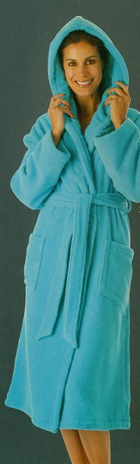Bathrobe Egeria deluxe terry with hood