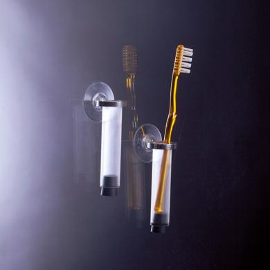 Zahnb�rstenhalter mit Saugn�pfen