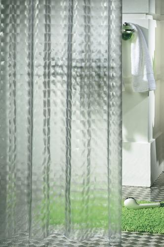 Prism shower curtain vinyl 180 x 200