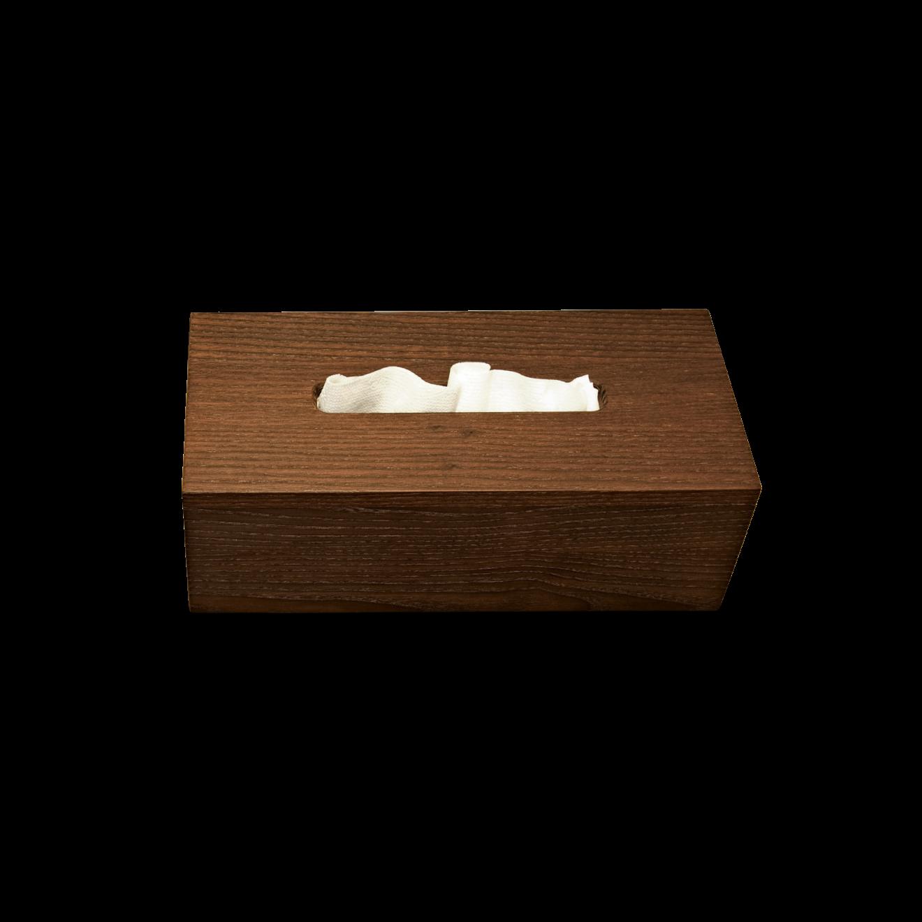 decor walther kleenexbox aus holz duschvorhangstangen. Black Bedroom Furniture Sets. Home Design Ideas