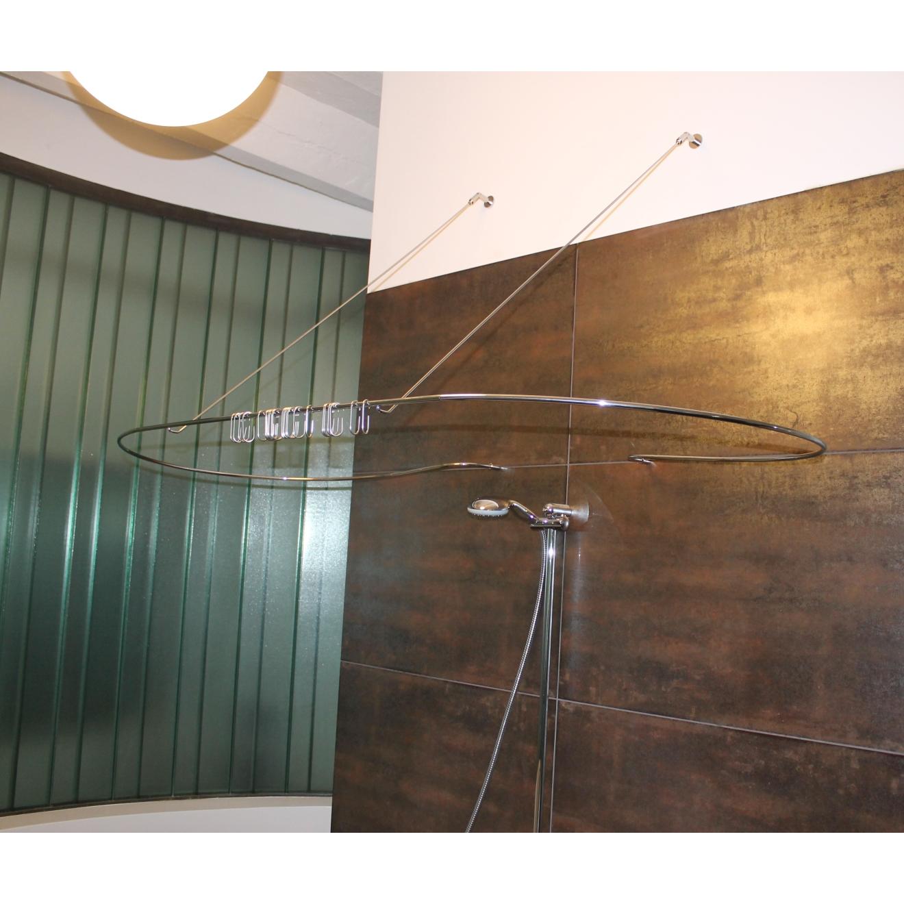duschvorhangstange edelstahl burschberg manufaktur f r. Black Bedroom Furniture Sets. Home Design Ideas