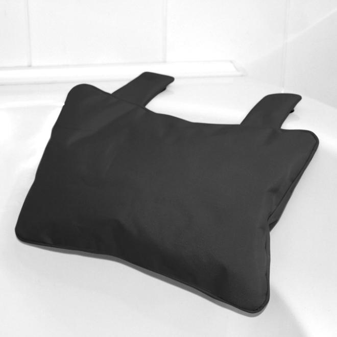 badewannenkissen von bad baden in schwarz. Black Bedroom Furniture Sets. Home Design Ideas