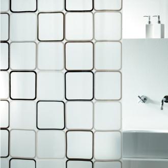 duschvorhang frame peva 180x200cm. Black Bedroom Furniture Sets. Home Design Ideas