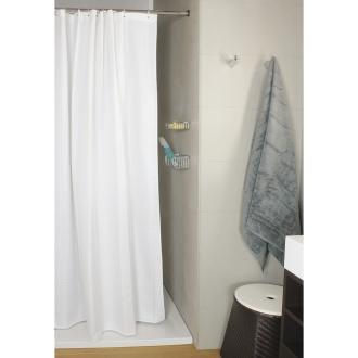 Duschvorhang Seilsystem textil duschvorhang uni 60 grad waschbar maßanfertigung