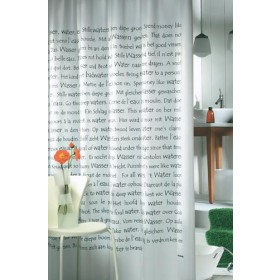 Duschvorhang Sayings Vinyl 180 x 200 cm
