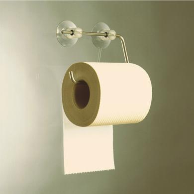 WC Papierabroller mit Saugn�pfen