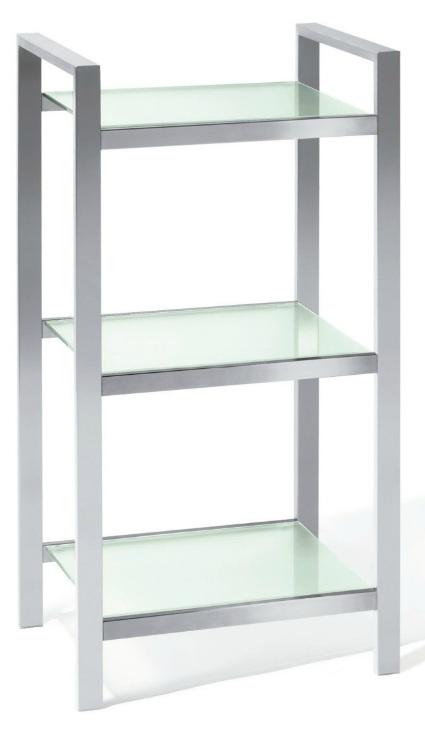 Badezimmer regal chrom traumhaus design - Esszimmermobel landhausstil ...