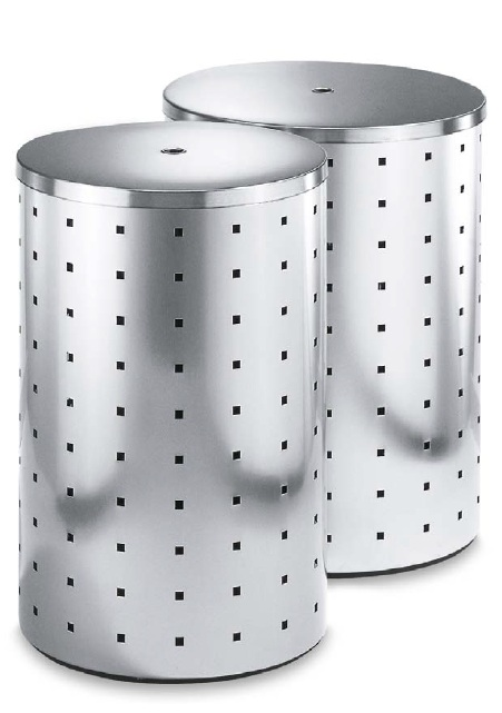 laundry bin with stainless steel lid Zack Quadro